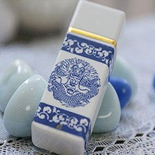 New chinese style Ceramic USB Memory Stick 2GB & flash usb drive for promotional gift