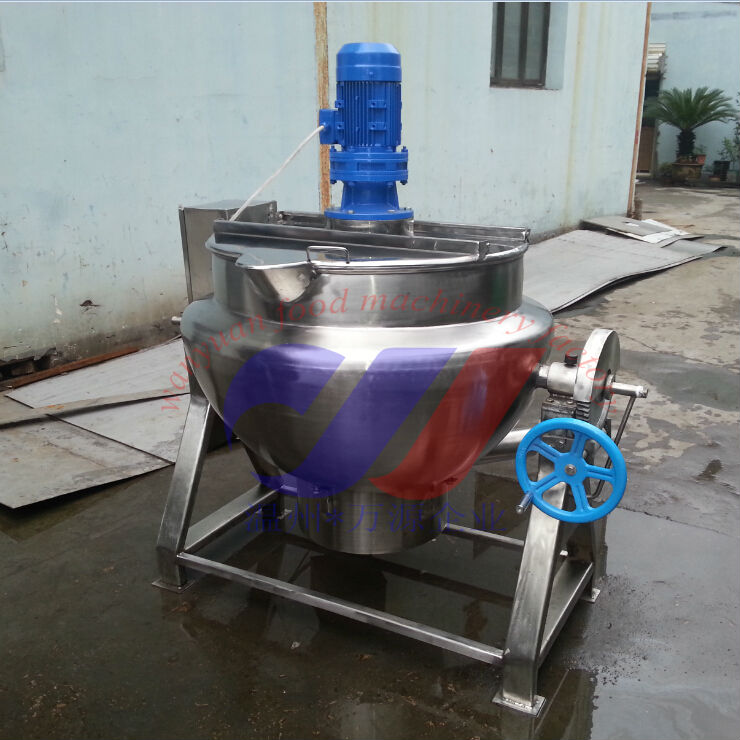 500L gas cooking kettle jacketed kettle