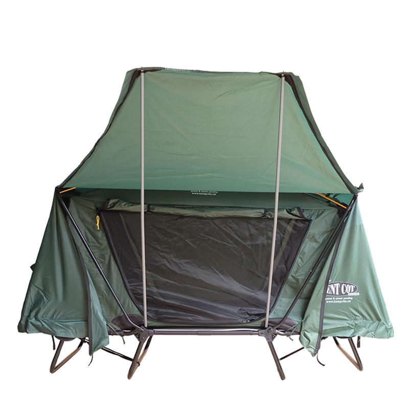 Pop Up Green Family Tent 8 Person For Camping