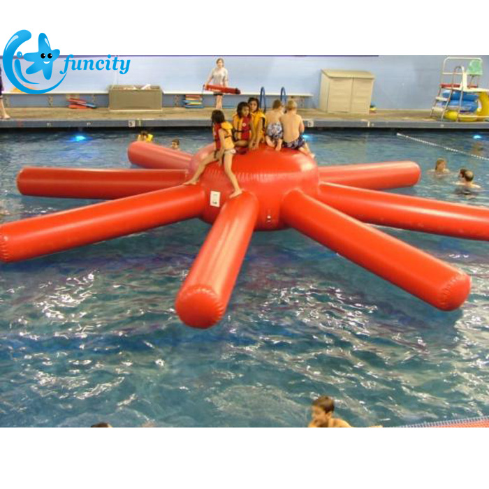 Commercial 0.9mm PVC Tarrpaulin Seashore Mmin Inflatable Water Toy,Inflatable Water Park Games For Kids