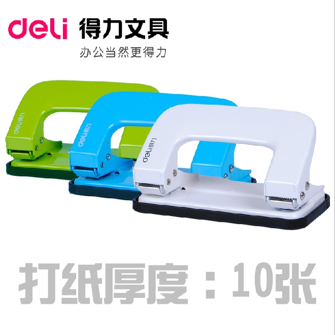 6mm two holes paper punch heavy duty puncher for office