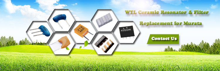 180 Days Warranty! WTL Ceramic Filter 455KHz SMD Crystal