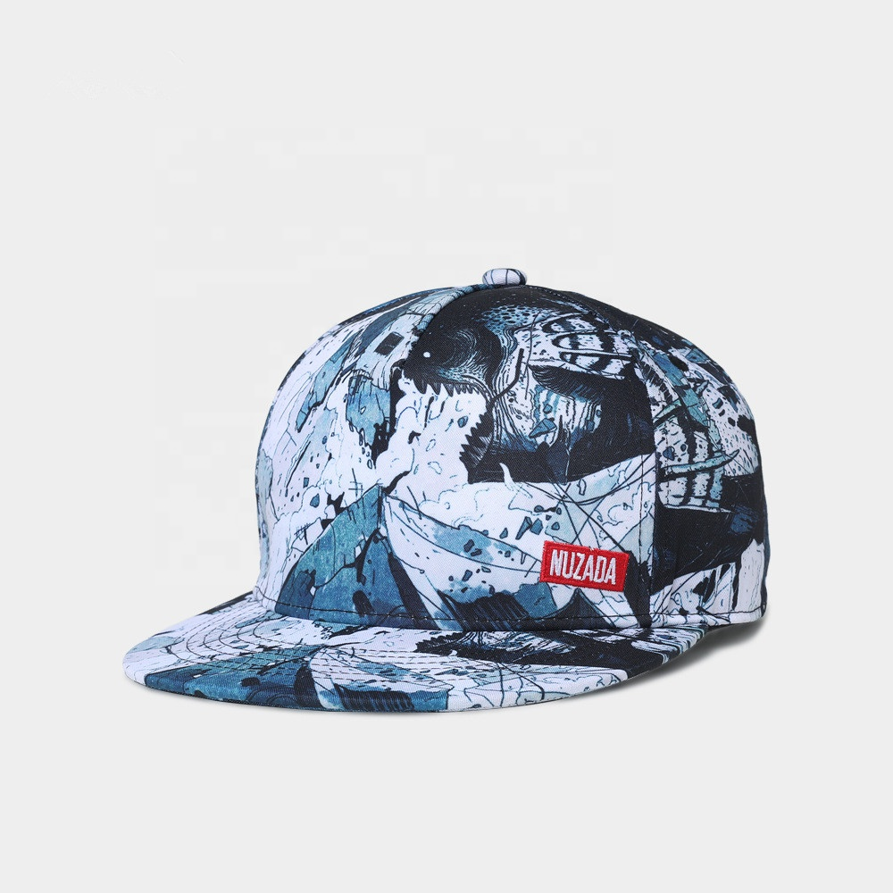 2019 New Fashion Outdoor Dress Printed Hip Hop Snapback <strong>Caps</strong>
