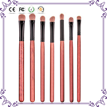 7pcs synthetic hair eyeshadow brush cosmetic makeup brush set