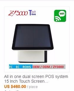 Direct Factory Price all in one touch pos tablet with card skimmer