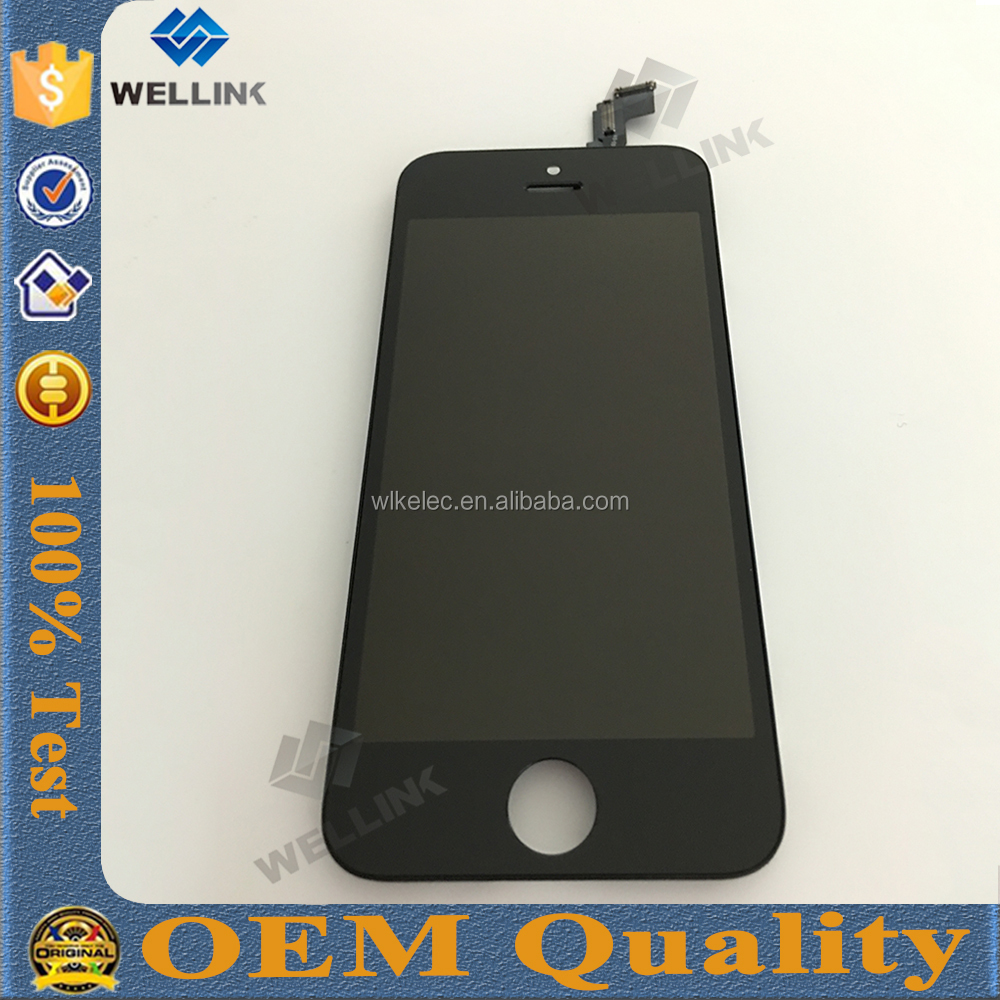 for iphone 5c replacement lcd screen digitizer sale in bulk,factory price