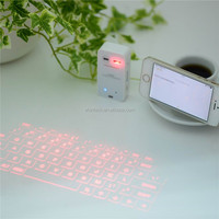 2016 New procuts virtual laser bluetooth keyboards mini bluetooth keyboards for pad phone and PC