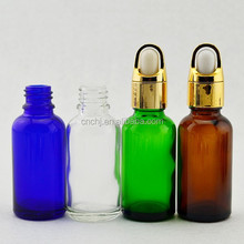 1oz cosmetic packaging/cosmetic glass bottle /empty bottles for oils