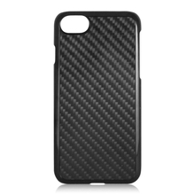 Real carbon fiber cell phone shell, protective back cover,PC bottom phone case for iPhone 7 7plus
