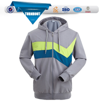 OEM Sleeve Zip Up Sweatshirts Without Hoods
