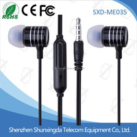Hot sale cheap earphone with good quality in ear earphone price earplug microphone