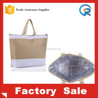 Customized insulate durable lunch tote bag for women