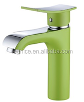 2016 new arrival lavatory wash basin tap in green color painted FNF42281A