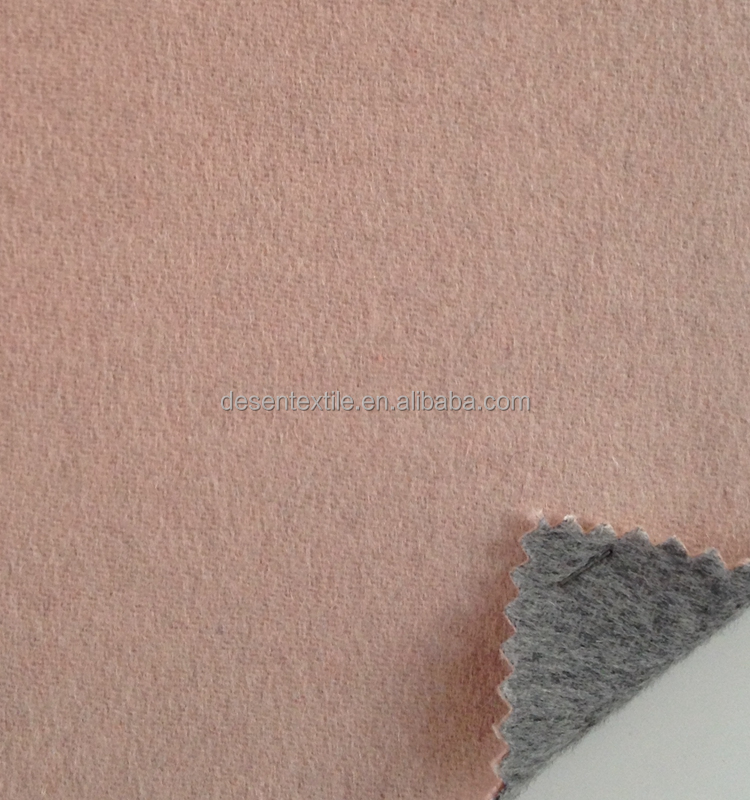 brushed double sides coat fabric with different color, made from Australia wool