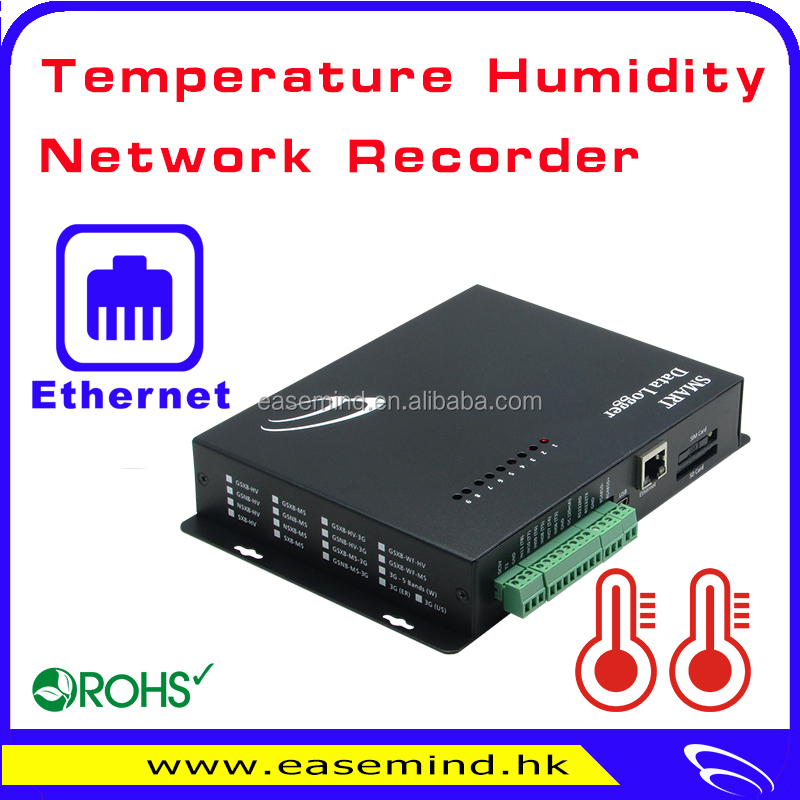 Temperature humidity recorder 3g data logger alarm sms gsm sender
