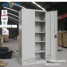 Factory price cheap stainless steel cupboard design steel godrej cupboard office metal cupboard
