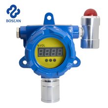 online toxic gas HCN detector with visual alarm