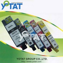 Colors ink cartridge remanufactured for HP564(CB321WN-CB325WN)
