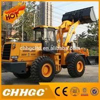 Economic Chinese Wheel Loaders with Strong Bearing Capacity