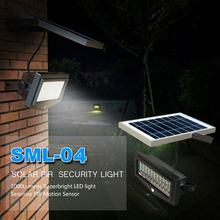 Solar Panel Outdoor Motion Flood Light Led
