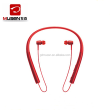 2017 Hot popular OEM factory bluetooth 4.2 neckband headphone MS 750 Stereo Wireless headset For Sport/Driving/Climbing