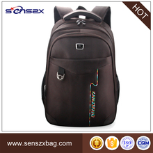 Fancy map reflex mul-function backpack brown