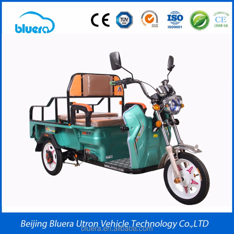 Bluera Buy Camel T2 Three Wheel Electric Motor Bike with 500-2000W Brushless Motor in China