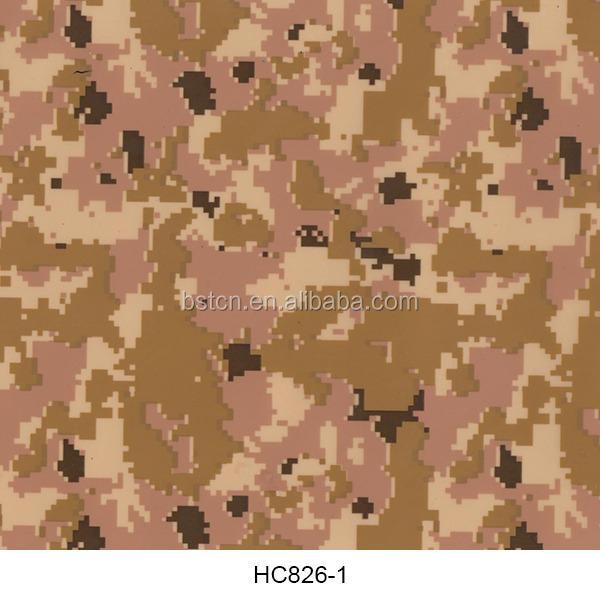 good price for air force camouflage in water transfer printing hydro dipping technology 2017 new style for ATV decoration