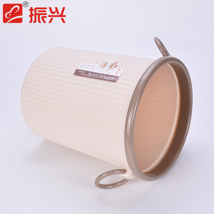 Elegant appearance kitchen trash can size of dustbin pp plastic waste container