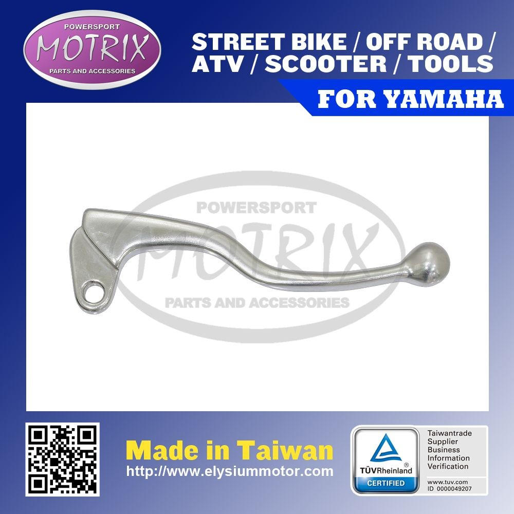 MOTORCYCLE SHORTY BRAKE LEVER For YAMAHA POLISH