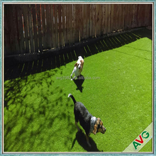 Diamond Shape Thick Green Color Fake Grass Artificial Pitches Balcony For Pets