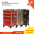 Stylish cosmetic working styling station rolling cosmetic case, trolley cosmetic box, aluminum rolling makeup case