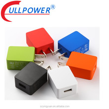 5v 1a 5v 2a 5v 2.4a Wall amounted universal travel adapter,usb portable mobile cell phone charger adapter