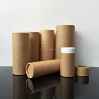biodegradable cardboard paper tube carton tube for packaging for dropper bottle