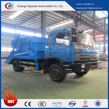 Alibaba hot selling china manufacturer dongfeng 8m3 skip loader refuse truck