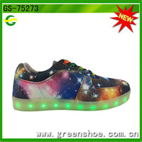 Hot selling led light up dance shoes