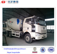 10/12 cbm concrete mixer truck for sale