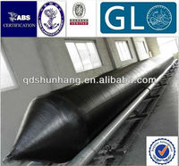 CCS certificate dia1.5x18m inflatable barge launching rubber airbag