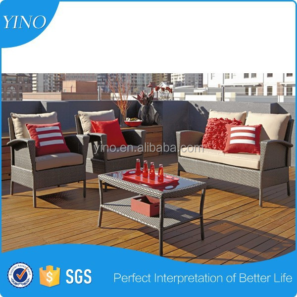Nina Resort Imitated Rattan Furniture Outdoor Furniture RZ1712