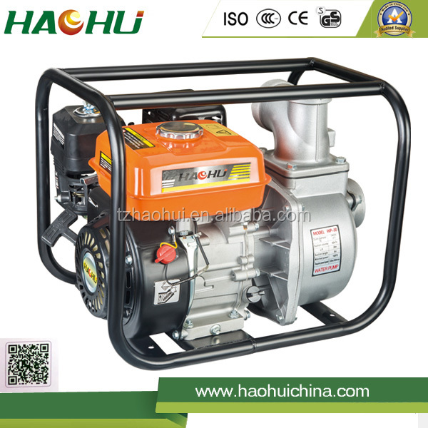 Gasoline water pump kirloskar 1hp water pump price 3 inch