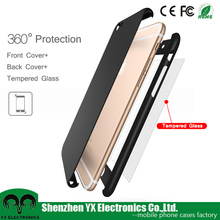 Ultra thin PC full body protective case for iphone 6 case 360 degree cover