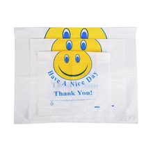 Hot sale promotion plastic PE die cut shopping bag