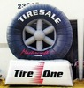 2012 inflatable tire balloon