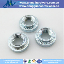 Metric self clinching nuts pressure riveting nuts round nuts