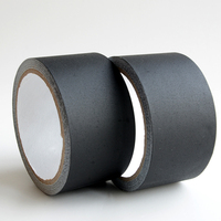Matt Low Gloss Finish Cloth Black Non-reflective Pro Gaff Gaffers Tape for Entertainment Film Industry
