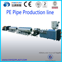 Zhangjiagang plastic corrugated pipe line with cheap price