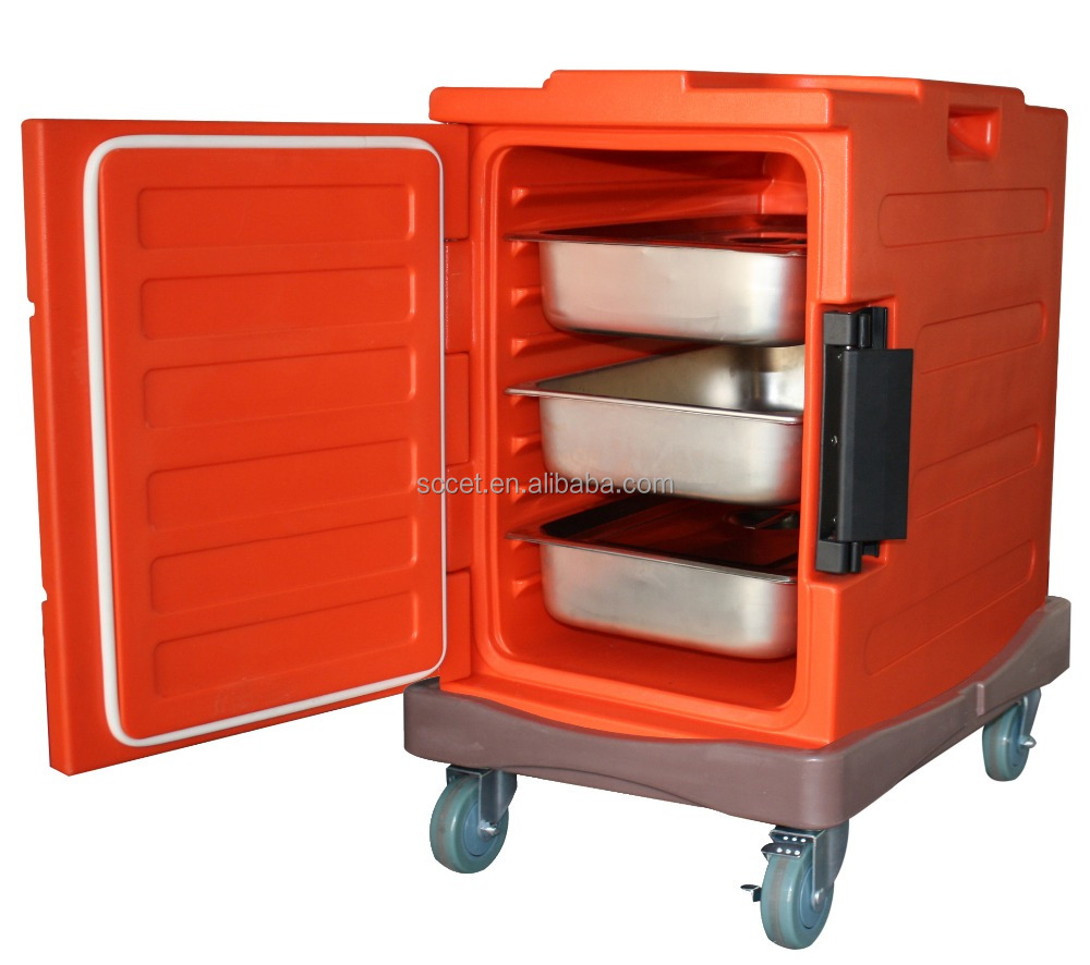 Heated Food Delivery In Catering Hot Food Trolley Insulated Warm ...