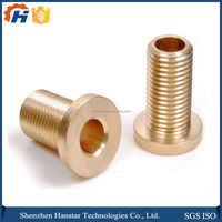 Custom CNC Sheet Metal Parts Gold