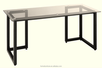 computer table dimensions modern cheap glass top computer table