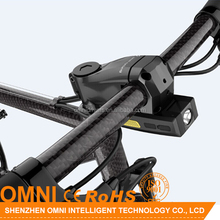 New arrival Omni OC2 alarming GPS positioning anti-theft bicycle gps tracker for mountain bicycle